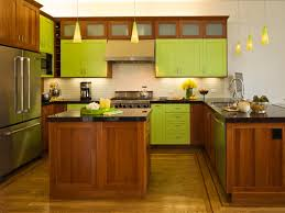 green kitchen walls with cherry cabinets eastsacflorist home and image of green kitchen walls with oak cabinets
