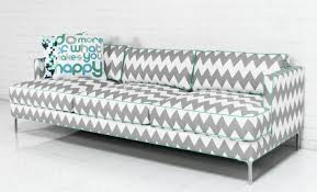 www roomservicestore com down with love sofa in chevron print