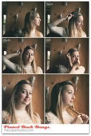 tutorial sirkam rambut panjang kanubeea hair clip menata rambut poni yang mulai panjang