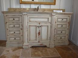 distressed wood bathroom cabinet diy distressed bathroom cabinets ideas awesome house