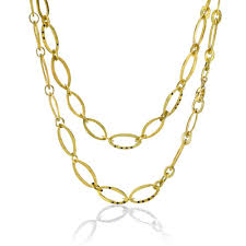 beautiful gold necklace set images Beautiful 18 karat gold necklace that will amaze you tovi farber jpg