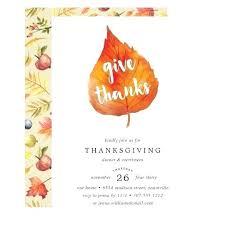 free thanksgiving invitation templates custom thanksgiving