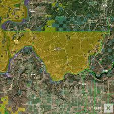 Map Of Spokane Washington Washington Hunt Unit Spokane Indian Reservation Wildlife