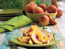 sweet peaches and pound cake oh my southern living
