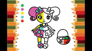 how to draw shopkins shoppies peppa mint boba colouring pages tv
