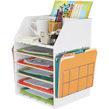 Desk Top Organizers Really Teachers Desktop Organizer With Paper Holders