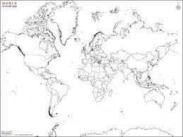 printable world map blank countries printable map of with countries new free printable printable map of