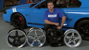 Mustang Black Chrome Wheels Mustang 1995 Style Cobra R Wheel 94 04 All Review Youtube