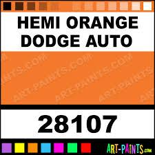 hemi orange dodge auto model master metal paints and metallic