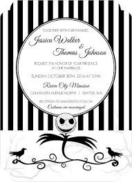 nightmare before christmas wedding invitations 10 wedding ideas that rock invitation ideas