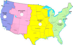 us map divided by time zones map of time zones usa map of usa states