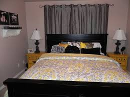 bedrooms superb grey and yellow bedroom decor yellow curtains