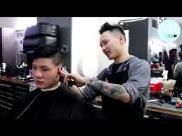 seattle barbers that do seahawk haircuts best barber in the northwest dang tran youtube