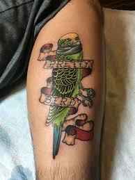 dumb n dumber pretty bird tattoo by matt robinson in vacaville ca