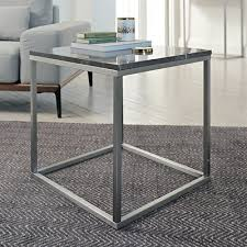 Marble Side Table Marble Side Table Grey Dwell
