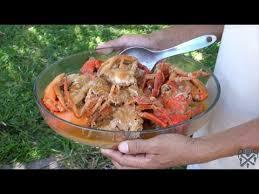cuisiner crabe recette des crabes au lait de coco île sainte madagascar