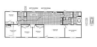 stunning 60 14 70 mobile home floor plan decorating design of