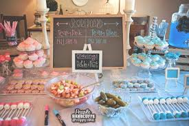 baby revealing ideas 25 best gender reveal party food ideas with taste and style