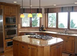 Ceramic Tile Backsplash by Kitchen Pass Through Window Ideas Beige Ceramic Tile Backsplash