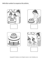 sequencing stories worksheets worksheets