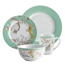 bonjour dinnerware fruitful nectar 16 dinnerware set 55585