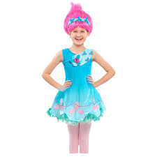 party city halloween costumes wigs trolls poppy wig walmart com
