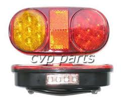 submersible led boat trailer lights tail led lights l pair boat trailer waterproof submersible 12v