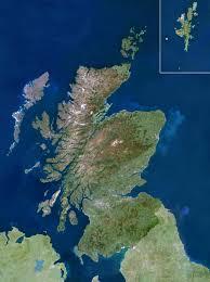 Satellite Maps 2015 Scotland Map Or Map Of Scotland