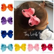 3 inch grosgrain ribbon korean 3 inch grosgrain ribbon hair bows accessories with clip