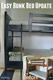 Bunk Bed Pic by Updated U0026 Painted Bunk Beds Painted Bunk Beds Bunk Bed And Room