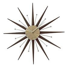 abstract clocks customer best choice sunburst star spoke wall clock modern