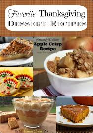 favorite thanksgiving dessert recipes not just plain pie