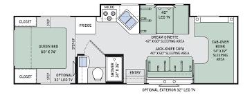 c trailer floor plans class c motorhome rv rentals 28 30