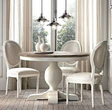 Antique White Dining Room Furniture with Avalon 45 White Extension Dining Table Ikea Dining Table Round