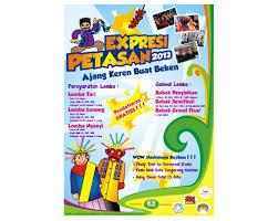 cara membuat poster untuk anak sd sribu poster design design poster event ekspresi petasan