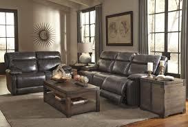 Reclining Living Room Furniture Sets Palladum Metal Power Reclining Sofa