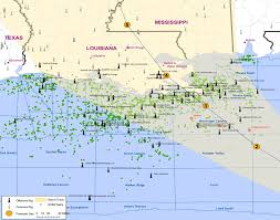 Mexico States Map by Map All Of The Oil And Gas Rigs In Hurricane Isaac U0027s Path