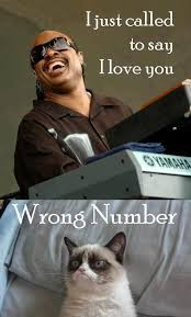 Wrong Number Meme - i just called to say i love you wrong number memes and comics