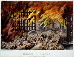 Chicago Fire Map by The History Blog Blog Archive The Great Chicago Fire Started