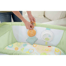 fisher price rock u0027n play portable bassinet green walmart com