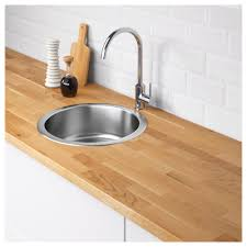 Small Kitchen Sinks Ikea by Boholmen Single Bowl Top Mount Sink Ikea