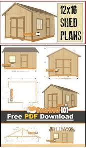 shed plans 10x12 gambrel shed pdf download gambrel shopping