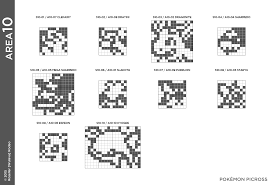 pokemon picross area 10 puzzle solution for 3ds by wulava gamefaqs