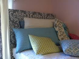 bed headboards diy the old post road easy dorm room headboard tutorial