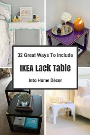 Ikea Home Decor by Cool Ikea Home Decor On 32 Great Ways To Include Ikea Lack Table