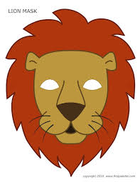25 lion mask ideas animal masks kids