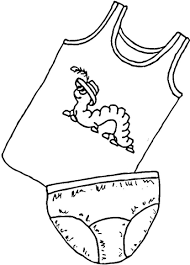 underwear kids coloring free printable coloring pages