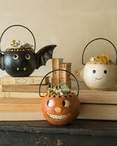 great deals on spider vintage halloween candy bowl