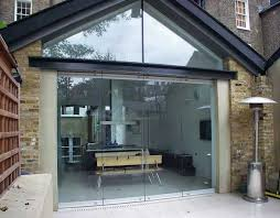 fantastic solid glass doors and room dividers inviting natural