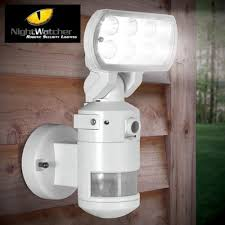 Motion Light With Camera Nightwatcher Security Light With Camera